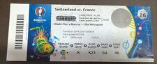 EURO 2016 TICKET SWITZERLAND x FRANCE