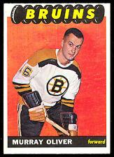 1965 66 TOPPS HOCKEY #34 MURRAY OLIVER EX-NM BOSTON BRUINS CARD