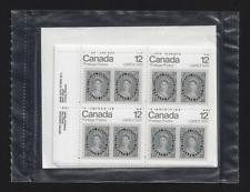 Canada — Set of 4 inscription Blocks — CAPEX '78 Queen Victoria #753 — MNH