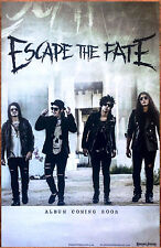 Escape The Fate Hate Me Ltd Ed Discontinued Rare Poster +Free Metal Rock Poster!