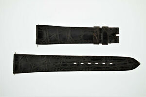 OMEGA NOS Vintage Leather Watch Strap Brown 18/14 18mm (B211)