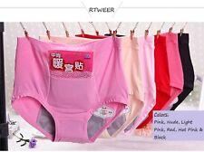 4 Pack Menstrual Period Easy Clean Protective Briefs Panties Underwear Leakproof