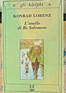 L' ANELLO DI RE SALOMONE - KONRAD LORENZ - ADELPHI