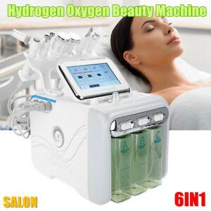 6 IN 1 Hydrogen Oxygen Beauty Machine Deep Cleaning Ultrasonic Skin Rejuvenation