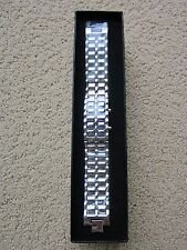 NIB Chrome Men's Date Digital LED Bracelet Sport Wristwatch
