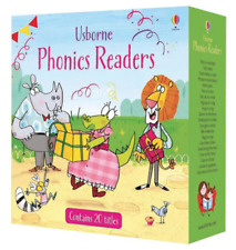 NEW Usborne Phonics Readers 20 Books Box Set Collection Educational Learning!