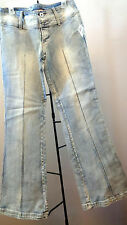 JOU JOU JEANS SIZE 9/10 96% COTTON, 4% SPANDEX MADE IN CHINA  LS