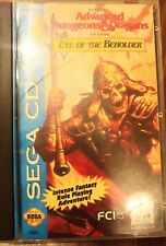 Dungeons and Dragons Eye of the Beholder sega CD complete