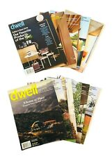 Dwell Magazines Lot 11 Special Editions 2015 to 2019