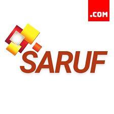 Saruf.com - 5 Letter Short Domain Name - Brandable Catchy Domain .COM Dynadot