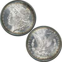 1878 7TF Morgan Dollar BU Uncirculated Mint State 90% Silver $1 US Coin Toned
