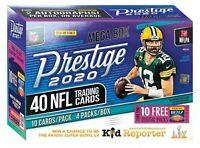 2020 PANINI PRESTIGE NFL FOOTBALL HOBBY MEGA BOX BREAK *** random team
