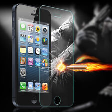 HD Front Tempered Glass LCD Screen Protector Fit for Apple iPhone 5S 5C SE 5