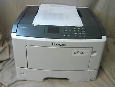 Lexmark M1145 Mono Laser Printer Color Screen Display - Fully Functional