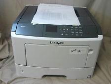 Lexmark M1145 Mono Laser Printer Color Screen Display - Fully Functional