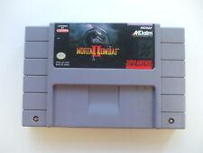 Mortal Kombat II (Acclaim/Midway 1993) Super Nintendo SNES