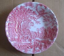 Johnson Brothers COTSWOLD Pink And White Small Fruit Bowl