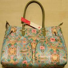 "BEAUTIFUL ""OILILY - CARRY ALL"" LARGE HAND OR SHOULDER BAG, SHADE'LAGOON' BNWT"