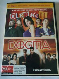 Dogma + Clerks II 2 DVD (Double) Kevin Smith Movie - AUSTRALIAN REGION 4 PAL