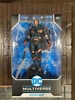 "McFarlane DC Multiverse Batman Arkham Origins Deathstroke 7"" Action Figure NEW🔥"