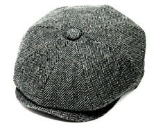 SALE Herringbone Peaky Blinder's Style Hat News Boy Baker Boy Gatsby Cap