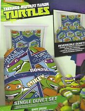 TEENAGE MUTANT NINJA TURTLES REVERSIBLE SINGLE DUVET SET