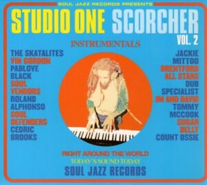 VARIOUS ARTISTS Studio One Scorcher Vol. 2 CD Europe Soul Jazz 2006 16 Track
