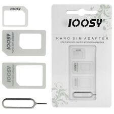NOOSY Nano Standard Micro SIM Card Adapter Converter For Mobile Phone