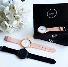 GENUINE Kohë Rose Gold With Peach Leather Women's Watch MVMT The Horse 5th