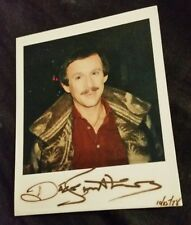 Richard Smothers Brothers Actor Musician Comedian Autographed Polaroid 1978 Rare