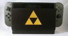 Zelda Triforce Gold Nintendo Switch Dock Sock Cover