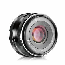 Meike 35mm F1.7 Manual Focus Prime Lens for Micro M4/3 Olympus Panasonic cameras