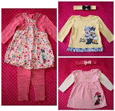 Disney Minnie Mouse Baby Girl Summer outfit set bundle size 9-12 months
