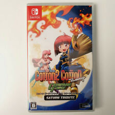 Cotton Guardian Force Saturn Tribute SWITCH JAP Game In English Ver.NEW SUCCESS
