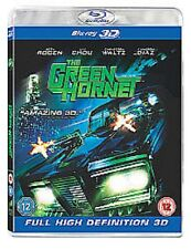 Blu Ray THE GREEN HORNET tru 3D and 2D. Seth Rogen. Brand new sealed.