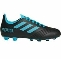 Adidas Predator 19.4 FxG J Youth Soccer Cleats Size 3 Black/Blue