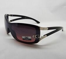 CG Eyewear Sunglasses BLACK & SILVER Women's Designer Fashion Ladies Shades New