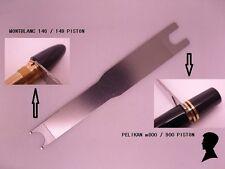 Montblanc 146/149,Pelikan M800 fountain pen piston wrench/disassemble tool