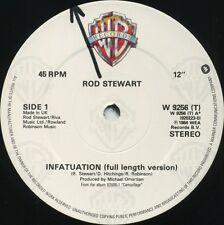 ROD STEWART Infatuation b/w Tonight's The Night (U.K. 3 Track 12inch)