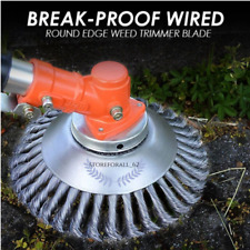 Break-Proof Wired Round Edge Weed Trimmer Blade (50% Off Today Only!)
