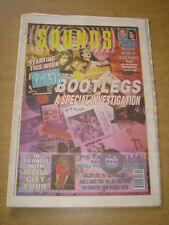 SOUNDS 1990 OCTOBER 6 PIXIES MEGA CITY FOUR PSYCHEDELIA IRON MAIDEN MC TUNES