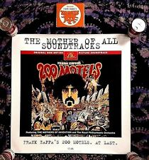1997 FRANK ZAPPA 200 MOTELS MGM PROMO ONLY -SEALED- 2 CD FAT BOX + PROMO POSTER