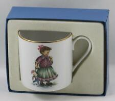Hummel Porcelain Collector Cup Playtime Girl Doll Berta Hummel Schmid 1981