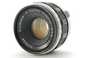 Olympus F.Zuiko Auto-S 38mm F/1.8 Lens for Pen F FT FV From JAPAN #1677
