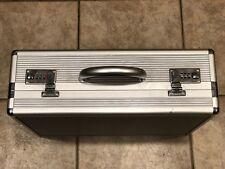 "TZ Case Aluminum 4"" Silver Briefcase Attache Computer Utility USA PAT. 6499188"