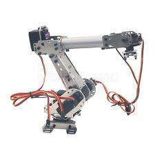 6Dof Industrial Mechanical Robot Arm Stainless Steel Robotic Manipulator DIY #