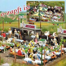 Busch 1046 Beer Garden Set Plastic Kit - HO/OO Gauge  New - Tracked 48 Post