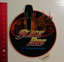 Aufkleber/Sticker: Sennheiser Black Fire (260317149)