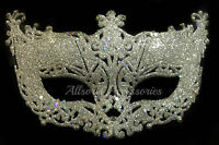 Venetian Silver Filigree Masquerade Ball Mask Party Fancy Dress Christmas