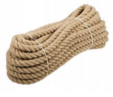 Juteseil 10 - 30 Meter Seil Tauwerk Hanfseil Tauseil Ø12mm und 16mm Leine PROFI